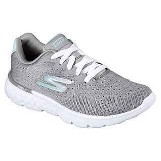 Skechers Go Run 400 Sole Womens Sneakers Gray/Blue 8.5 W