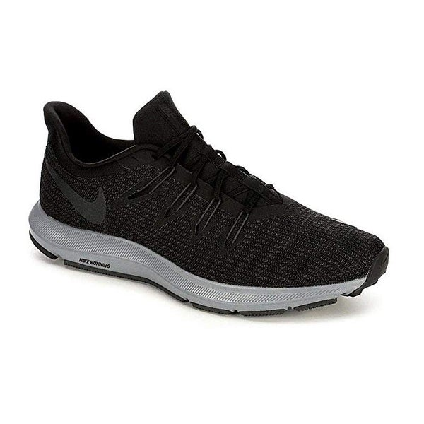 e04706bb Shop Nike Mens Quest Black Anthracite Cool Grey Size 11 - Free Shipping  Today - Overstock - 25591666