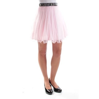 Womens Pink Party Skirt Size 1