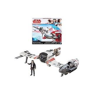 Star Wars: The Last Jedi Resistance Ski Speeder Vehicle
