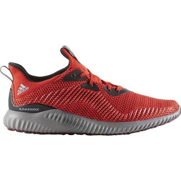 f3b74d09fd1bd adidas Men  x27 s AlphaBOUNCE Running Shoe Core Red S17 Collegiate Burgundy