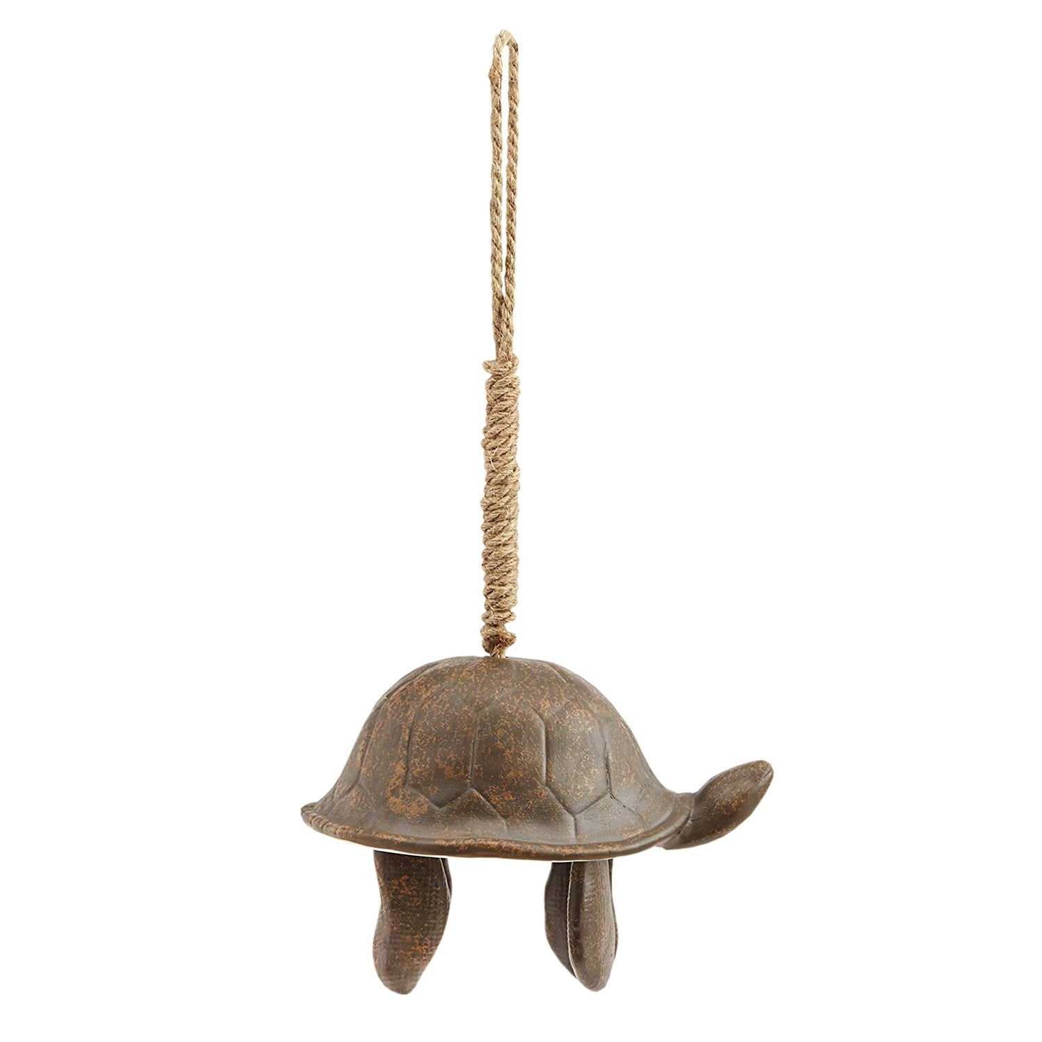 Mud Pie Sea Turtle Wind Chime Tortoise Windchime Ceramic Wood With Brass Finish Brown 8 25 In X 5 13 In X 5 5 In Overstock 28520368