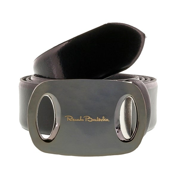 Renato Balestra Z075R Smooth Leather Mens Belt
