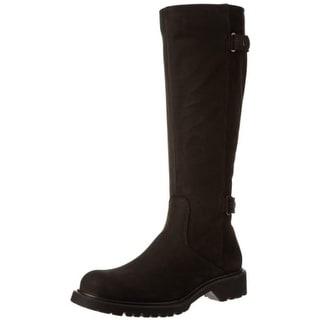 La Canadienne Womens Hayden Knee-High Boots Suede Waterproof