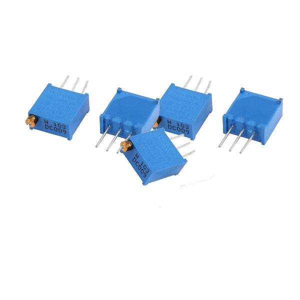 Shop 5pcs 3296w 103 10k Ohm High Precision Variable Resistor