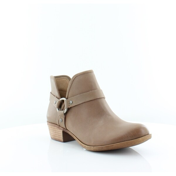 Lucky Brand Bashira Women's Boots Sesame Feliz Leather - 10