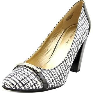 Bandolino Everley Women Round Toe Synthetic White Heels
