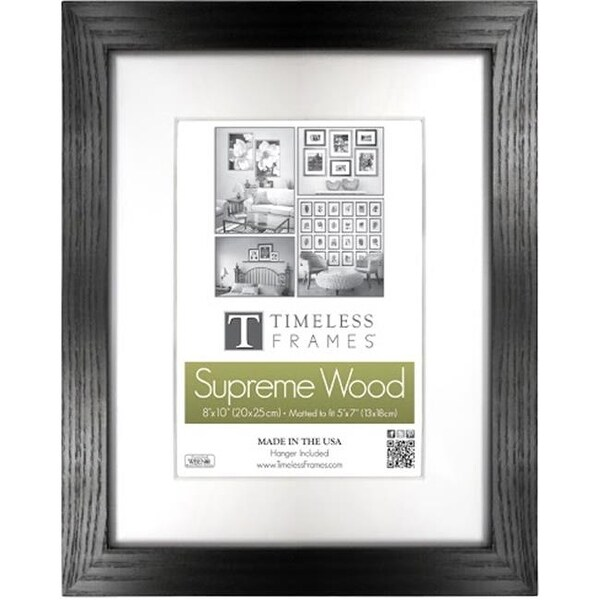 Timeless Frames 73216 Regal Black Wall Frame, 12 x 18 in. - Free ...
