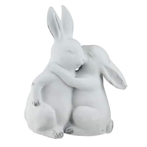 "9.5"" White Impassioned Romance Decorative Tabletop Decoration Figures"
