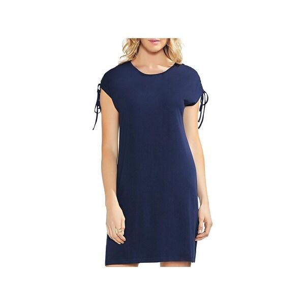 d926d8b4da0a Shop Vince Camuto Womens T-Shirt Dress Lace-Up Mini - S - Free ...