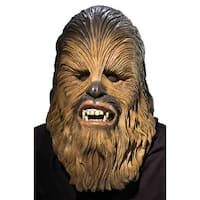 Rubies Chewbacca Deluxe Adult Latex Mask - Brown