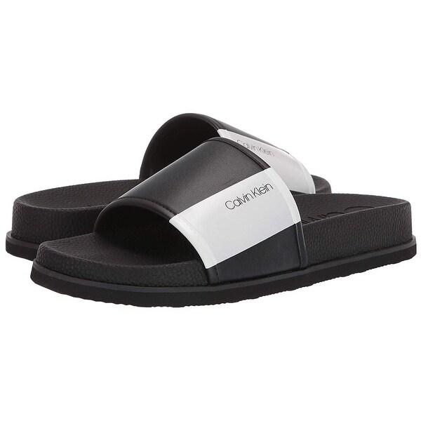 Calvin Klein Men's Mackee Slide Sandal