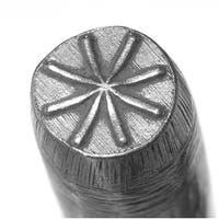 Starburst Punch For Stamping Metal 1/4 Inch 6mm (1)