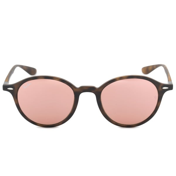 350730b6f3c54 Shop Ray-Ban Liteforce Round Sunglasses RB4237 894 Z2 50 - On Sale ...