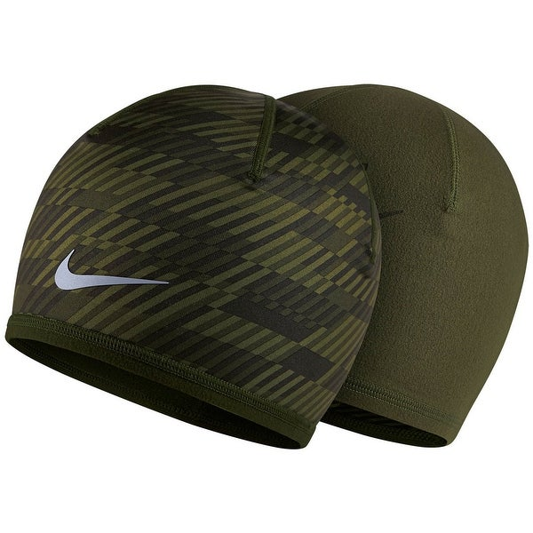 4149494224e Shop Nike NEW Green Unisex One Size Dri-Fit Reversible Running Beanie Hat -  Free Shipping On Orders Over  45 - Overstock - 20350578