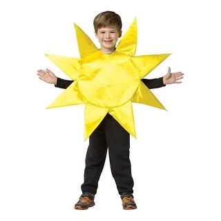 Sunny Day Child Costume, 4-6X - Yellow