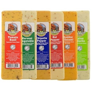 Link to 6ct Farmers Market Variety Cheese Block 7 oz. each - Multi Similar Items in Grocery