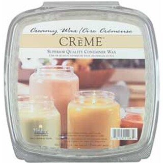 For Glass Containers - Creme Candle Wax 2lb