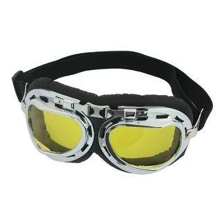 Unique Bargains Elastic Strap Full Frame Ski Snowboarding Cycling Goggles for Unisex