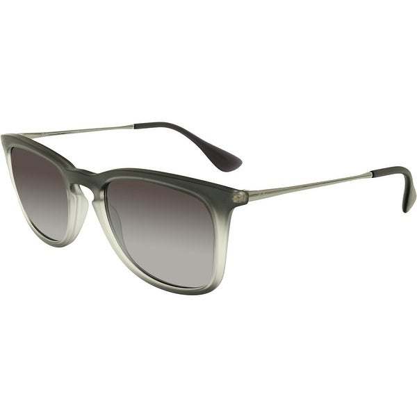 4a58f9cf79 Shop Ray-Ban Gradient RB4221-62268G-50 Grey Square Sunglasses - Free  Shipping Today - Overstock.com - 18900516