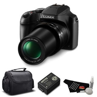 Panasonic Lumix DC-FZ80 60X Zoom Camera Bundle