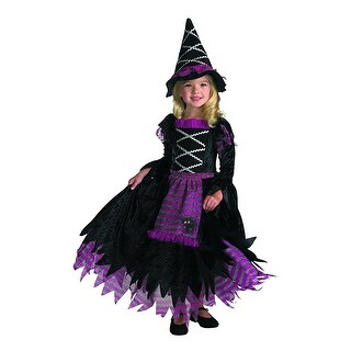 Fairy Tale Witch Child Costume - Black
