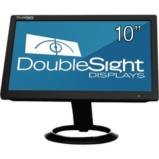 "DoubleSight Displays DS-10U DoubleSight Displays 10"" USB LCD Monitor TAA - Adjustable Display Angle - 1024 x 600 - 262,000"