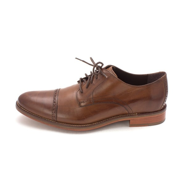 Cole Haan Mens Gilbertsam Leather Lace Up Dress Oxfords - 11