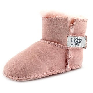 Ugg Australia I Erin Infant Round Toe Suede Pink Winter Boot