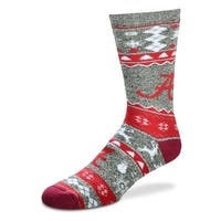 Alabama Crimson Tide Holiday Socks