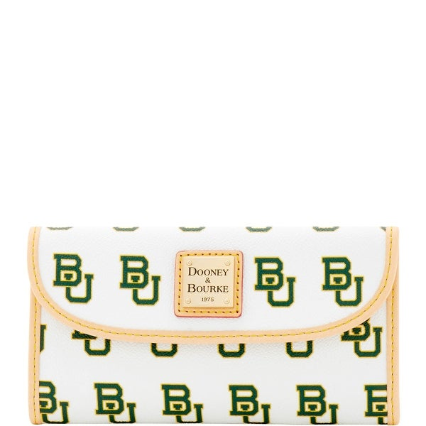 Dooney & Bourke NCAA Baylor Continental Clutch (Introduced by Dooney & Bourke at $128 in Mar 2016)