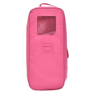 Costway 18 inch Doll Travel Carrier Case With Bed And Bedding Girls Christmas Gift