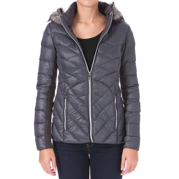 BCBGeneration Womens Puffer Coat Down Packable