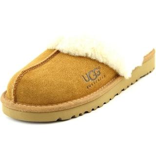Ugg Australia Kid's Cozy Round Toe Suede Slipper