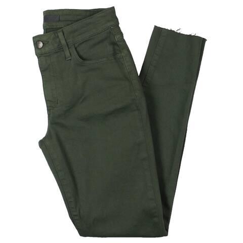 Joe's Womens Ankle Jeans Mid-Rise Skinny - Kale