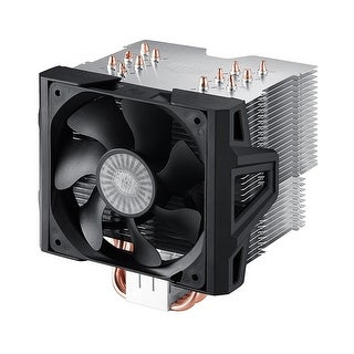 Cooler Master Hyper 612 Ver.2 - Silent Cpu Air Cooler With 6 Direct Contact Heatpipes And Folding Fin Structure Rr-H6v2-