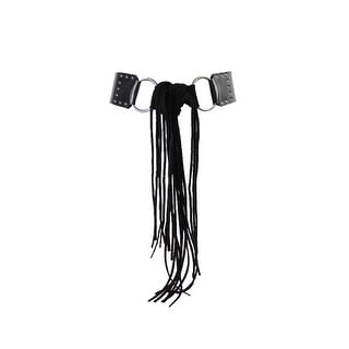 Link to Style & Co. Black Mixed-Media Sash Tie Stretch Belt S-M Similar Items in Athletic Clothing