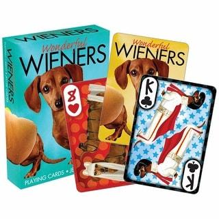 Wonderful Wiener Playing Cards