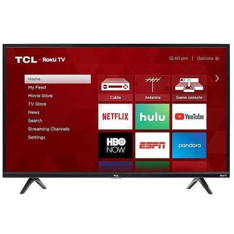 """40"""" 1080p LED TV With Roku"""