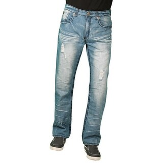 Parish Nation Young Men's Light Stonewash Fashion Jeans