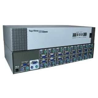 QVS KVM-116RD PS-2 16 Port KVM Rack Mountable Autoswitch with OSD