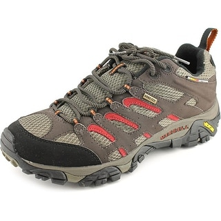 Merrell Moab Gore-Tex Men W Round Toe Synthetic Brown Hiking Shoe