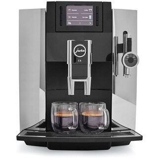 Jura E8 Espresso Coffee Machine,chrome