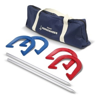 Link to GoSports Steel Horseshoes Regulation Game Set  Similar Items in Outdoor Play