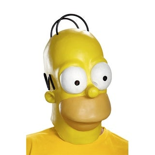 Disguise Homer Adult Mask - Yellow
