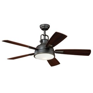 "Vaxcel Lighting F0033 Walton 52"" 5 Blade Indoor Ceiling Fan - Light Kit and Fan Blades Included"
