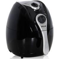 Della Electric Air Fryer w/ Temperature Control, Detachable Basket & Carry Handle, 1500W