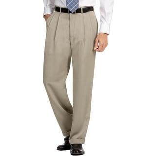 Perry Ellis Mens Dress Pants Micro Melange Classic Fit
