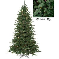 4.5' Pre-Lit Natural Frasier Fir Artificial Christmas Tree - Multi Lights