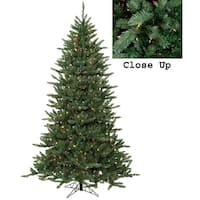 9' Pre-Lit Natural Frasier Fir Artificial Christmas Tree - Multi Lights